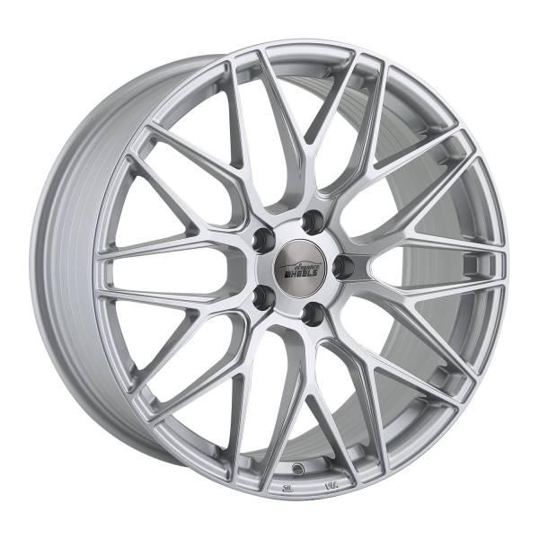 E 3 FF Deep Concave 9,5x19 5x112 ET45 Hyper Silber