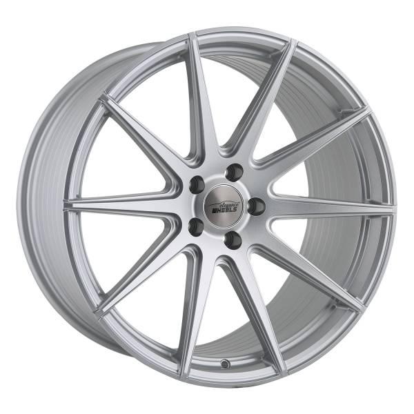 E 1 FF Deep Concave 10,5x21 5x112 ET45 Hyper Silber