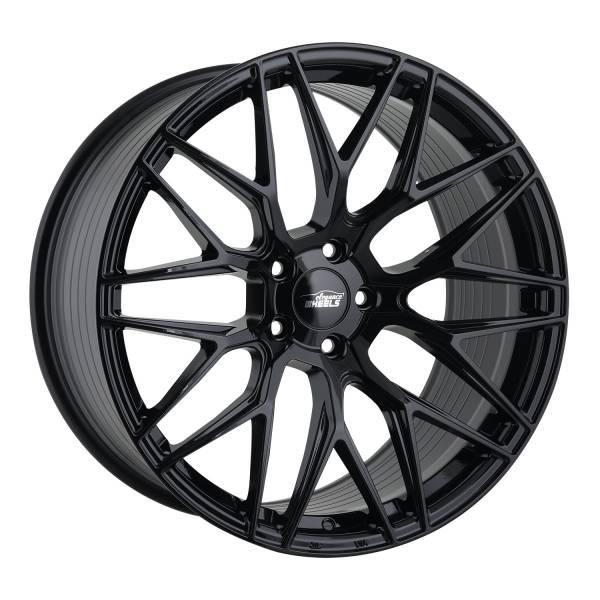 E 3 FF Deep Concave 10,5x21 5x120 ET40 Highgloss Black