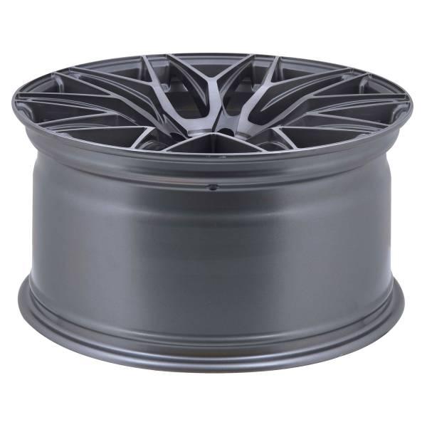 E 3 FF Deep Concave 10,0x20 5x112 ET45 Titanium brushed