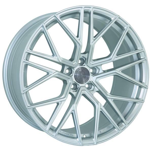 E 2 FF Deep Concave 9,5x20 5x120 ET25 Hyper Silber