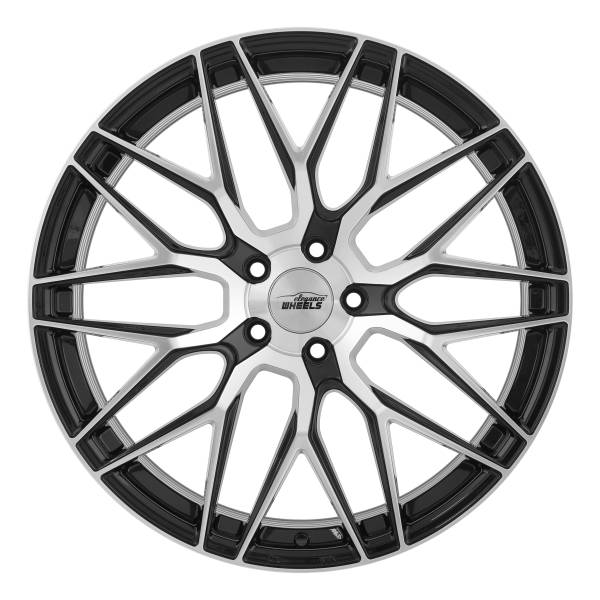 E 3 FF Concave 9,0x20 5x112 ET40 Highgloss Black Polished