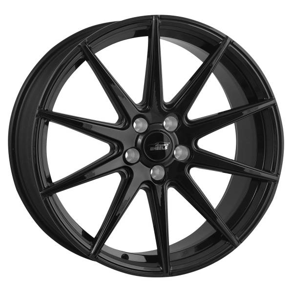 E 1 Concave 9,0x21 5x120 ET30 Highgloss Black