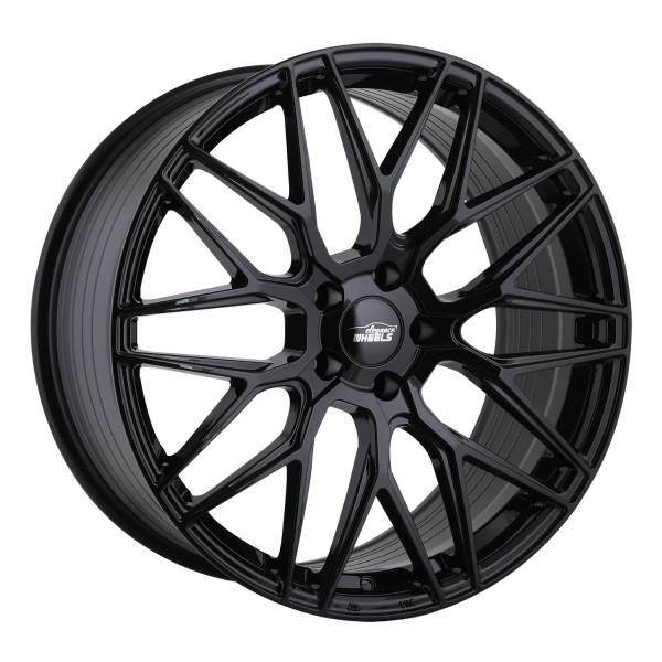 E 3 FF Concave 9,5x21 5x120 ET25 Highgloss Black