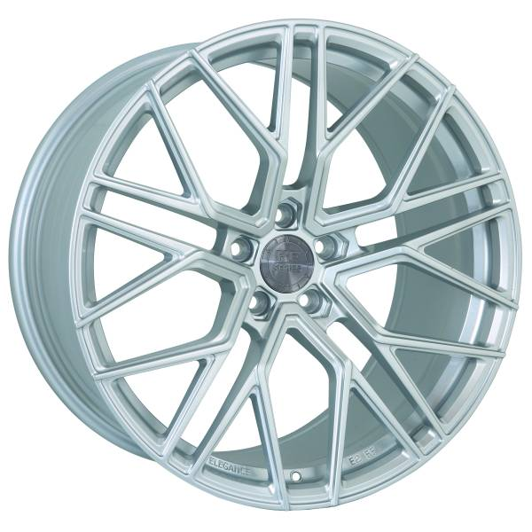 E 2 FF Deep Concave 9,5x20 5x112 ET42 Hyper Silber