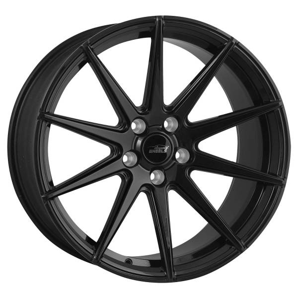 E 1 Deep Concave 10,5x20 5x120 ET45 Highgloss Black