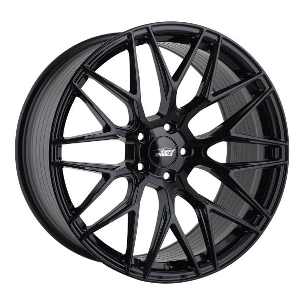 E 3 FF Deep Concave 10,5x21 5x120 ET40 Highgloss Black
