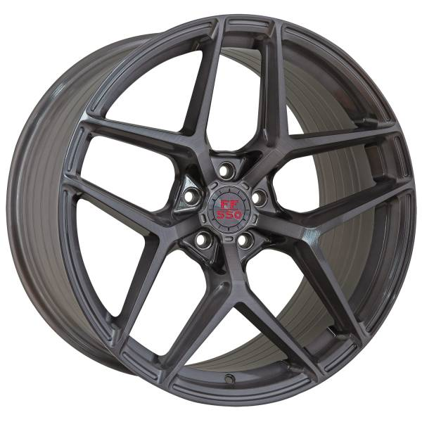 FF 550 Deep Concave 10,0x20 5x120 ET40 Liquid Brushed Metal